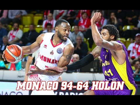 BCL — Monaco 94 - 64 Holon — Highlights