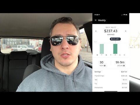 How I make 27hr driving for Uber in 2019