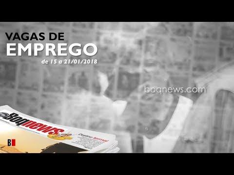 Oportunidades de emprego na Cidade de Santos e região de 15 a 21/01