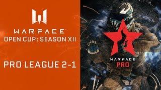 Warface Opn Cup: Season XII. Pro League 2-1