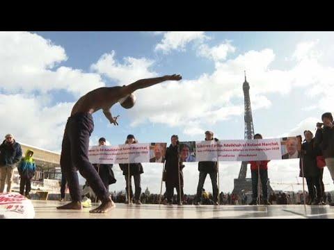 Συγκέντρωση στο Παρίσι για τους δύο φυλακισμένους ερευνητές στο Ιράν…