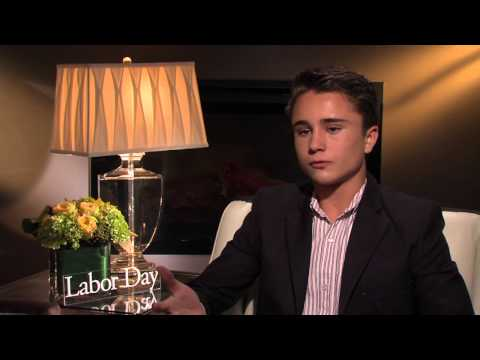 Labor Day: Gattlin Griffith Official Movie Interview