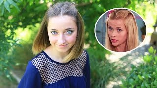Double Knot Pullback from Legally Blonde   Cute Girls Hairstyles by Cute Girls Hairstyles