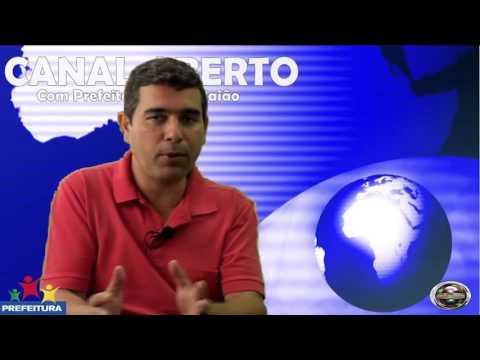 Secretário Aldeir Ferraz fala ao programa Canal Aberto