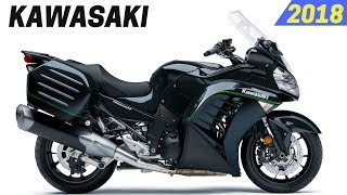4. NEW 2018 Kawasaki Concours 14 ABS - Available With New Color
