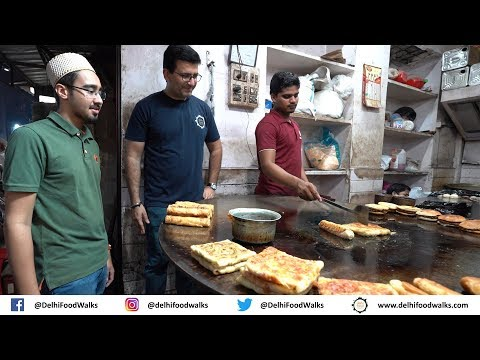 Mumbai Non-Veg Food Tour - Chicken Patrel Biryani (Biryani without rice) + Bara Handi + Baida Roti