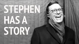 Stephen Has A Story: Don't Pull A Colbert