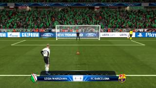 Video Rzuty karne 2# Legia Warszawa vs Fc Barcelona MP3, 3GP, MP4, WEBM, AVI, FLV Maret 2018