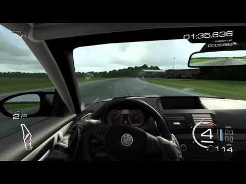 forza 5: BMW 1M hot lap top gear test track (видео)