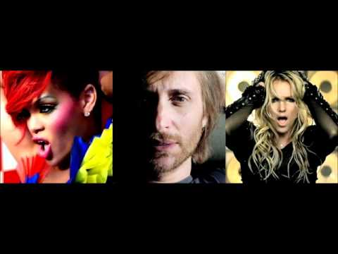 David Guetta feat. Rihanna vs. Britney Spears - Who's That Chick Till The World Ends (Mash-Up)