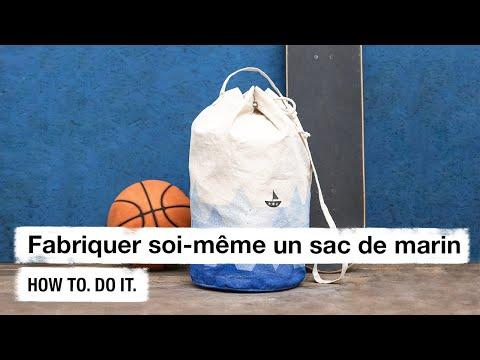 Do it + Garden: Fabriquer soi-même un sac de marin. How to. Do it.