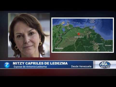 Entrevista a Mitzy Capriles de Ledezma – Alo Buenas Noches 19-01-2017 Seg. 04