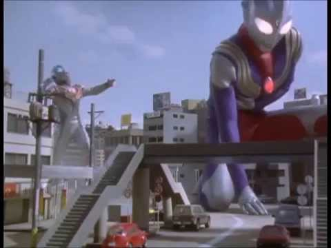 Good vs Evil! Ultraman Tiga vs Evil Tiga