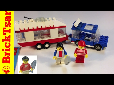 Vintage Lego Town 6590 Vacation Camper from 1988