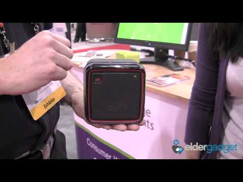 CES 2012 Video: Cambridge Consultants Q2 Radio