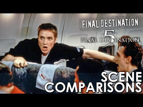 Final Destination (2000) and Final Destination 5 (2011) - scene comparisons
