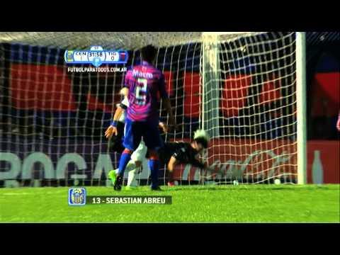 Gol de Abreu. Rosario Central 1 - Tigre 0. 8vos. Copa Argentina. Fútbol Para Todos