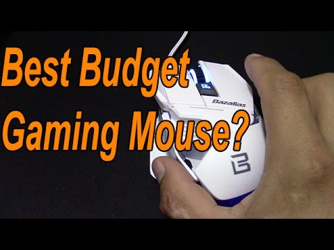 Hamaker ZELOTEZ 2015 Bazalias Gaming Mouse Review 2000 DPI USB Wired
