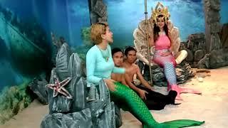 Cupi Cupita Si Ratu Duyung menghukum Anwar dan Rama jadi Kecebong