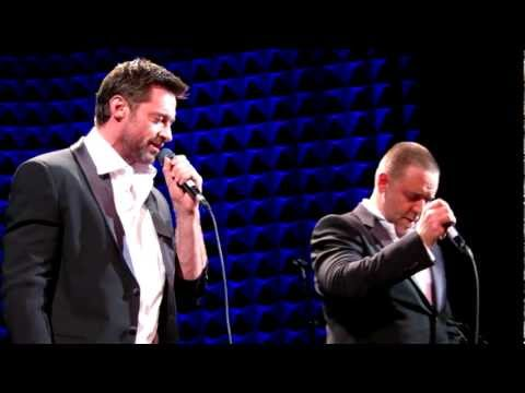 Watch: Russell Crowe, Hugh Jackman Musical Confrontation