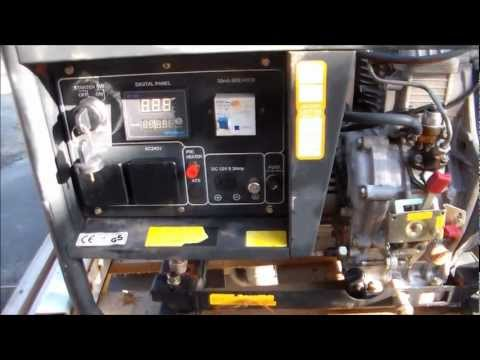 Hyundai 10HP 6KVA Genset Repair/Overview/Inspection