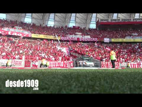 Vs Coritiba - BR15 - Camisa Vermelha - Guarda Popular - Internacional