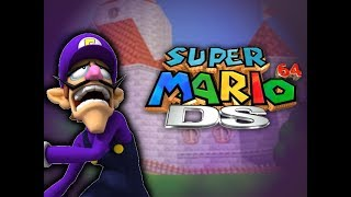 Waluigi in Super Mario 64 DS Conclusion