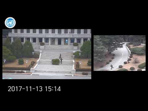 Побег солдата КНДР в Южную Корею