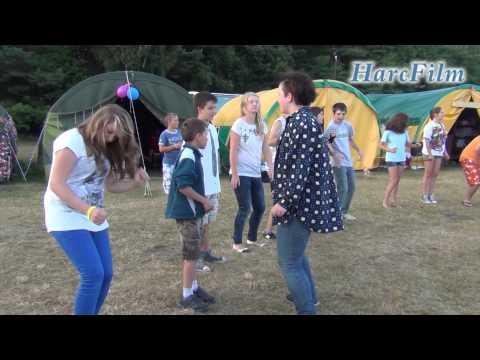 Obóz Harcerski ZHP Mielec 2013 - Tańce integracyjne, gry, zabawy z hufcem Chrzanów