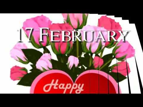 Birthday quotes - 17 February Birthday Status  Birthday Status 17 February
