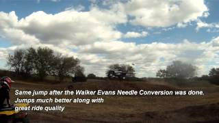 5. XP900 before and after Walker Evans Racing Needle Conversion