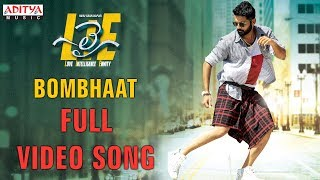 Video Bombhaat Full Video Song | Lie Video Songs | Nithiin , Megha Akash | Mani Sharma MP3, 3GP, MP4, WEBM, AVI, FLV Februari 2019