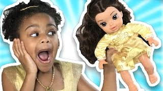 Bad Baby Magic Transformation! Pretend Play Crying Babies Beauty and the Beast Toys to See
