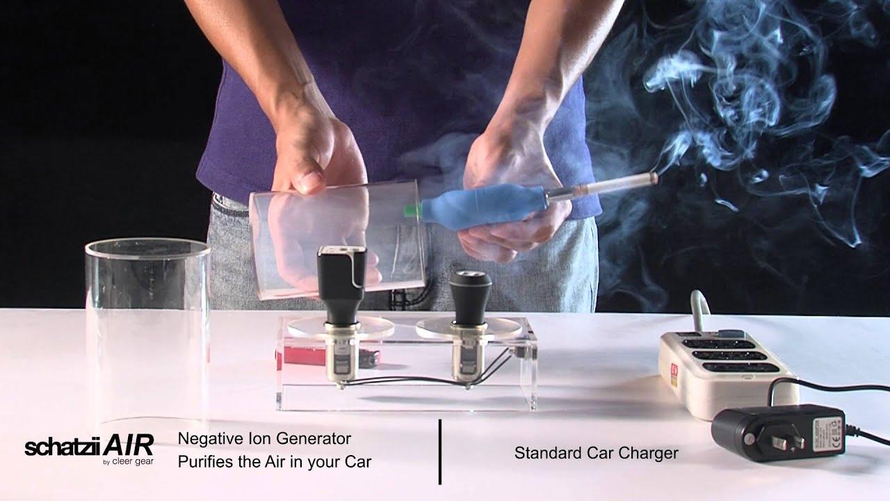 Air Ionic Car Air Purifier + Dual USB Car Charger video thumbnail