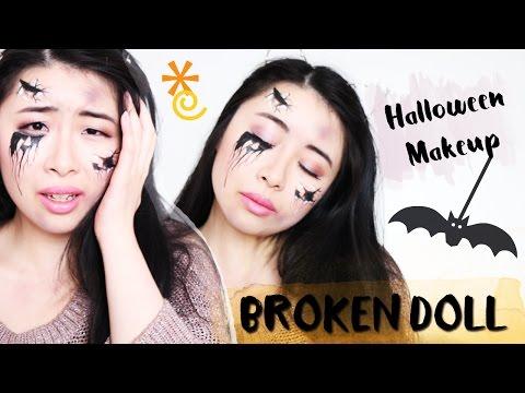 Maquillage d'Halloween • Innocent Broken Doll | LilieNetwork