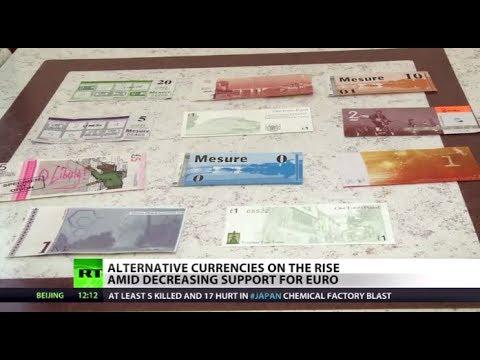 People seek alternatives in growing disapproval of EU & euro