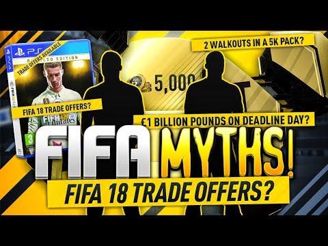 FIFA 18 TRADE OFFERS? (видео)