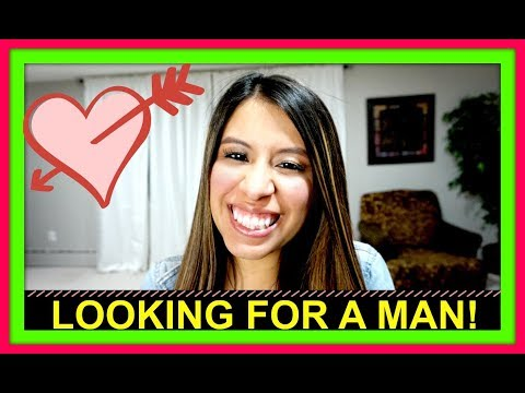 LOOKING FOR A MAN!
