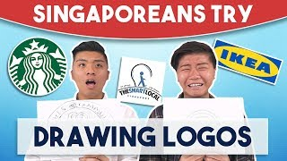 Video Singaporeans Try: Drawing Logos MP3, 3GP, MP4, WEBM, AVI, FLV September 2018