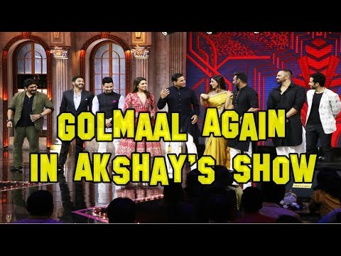 Golmaal Again In Akshay Kumar's Comedy Show The Great Indian Laughter Challenge