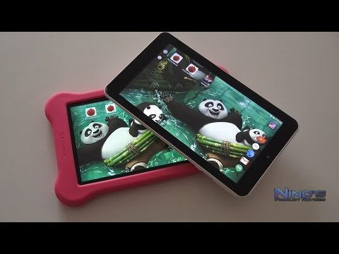 Simbans Funlet Kids Tablet Review [Deutsch]