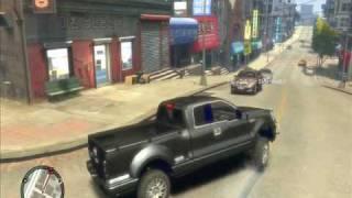 GTA 4 Ford F150 Truck w policyjnych akcjach pościgowych ;]