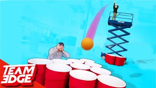 Video Giant Cup Pong With a Skylift! | Punishment edition!! MP3, 3GP, MP4, WEBM, AVI, FLV Juni 2019
