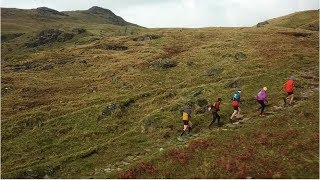 AntonKrupicka running in the Lake District by La Sportiva