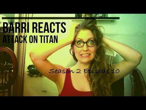 Attack on Titan Season 2 Episode 10 Reaction