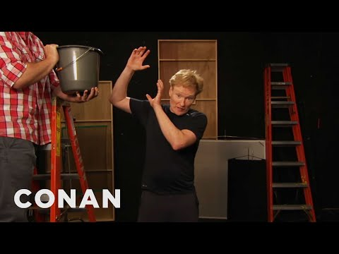 Conan Completes the ALS Ice Bucket Challenge