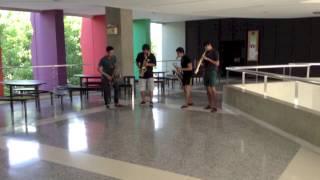 เรือเล็กควรออกจากฝั่ง Bodyslam cover by Siam pop saxophone quartet