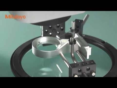 CNC vision measuring system Quick Vision Active, Mitutoyo South Asia Pvt Ltd