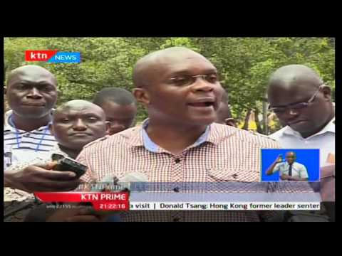 Public university lecturers take to the streets to put pressure on education ministry