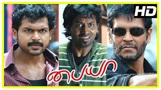 Video Paiya Tamil Movie Scenes | Jagan tries to save Karthi from Milind Soman | Karthi fights Milind Soman MP3, 3GP, MP4, WEBM, AVI, FLV Maret 2019
